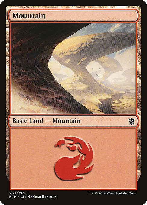 Mountain 2 (Khans of Tarkir)