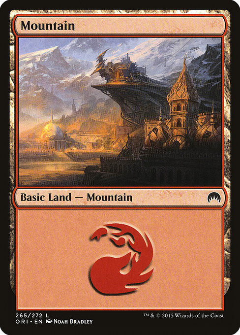 Mountain 1 (Origins) (Foil)