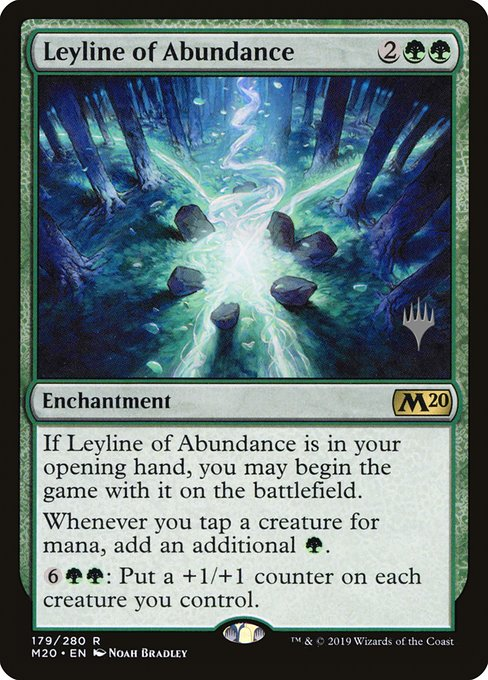 Leyline of Abundance (Foil)
