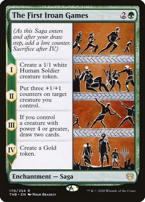 The First Iroan Games (Foil)