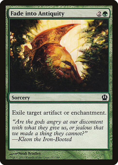 Fade into Antiquity (Foil)