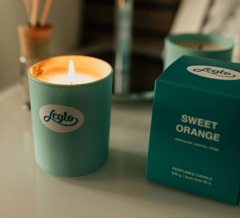 Свічка Leglo Sweet Orange Max