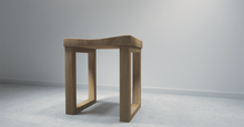 Load image into Gallery viewer, Solid wood bench/stool made from local tree, Angsana.