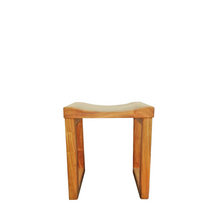 Load image into Gallery viewer, KEMEJA - Angsana Curved Wood Stool
