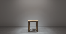 Load image into Gallery viewer, The Angsana turns out very beautiful when made into this wooden stool.