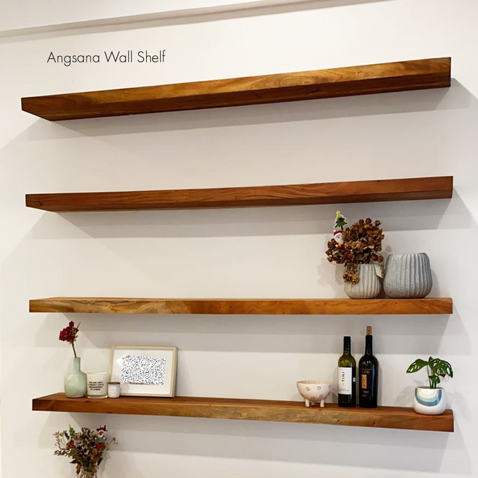 Angsana Wood Shelf