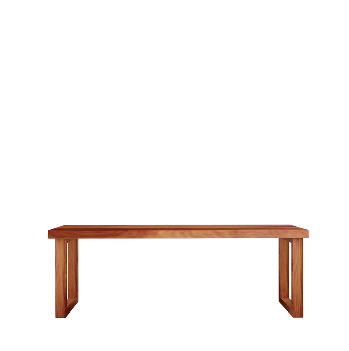 Khaya Solid Wood Bench