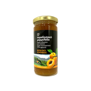 """CHRYSO MILO"" APRICOT JAM FROM CORINTH"