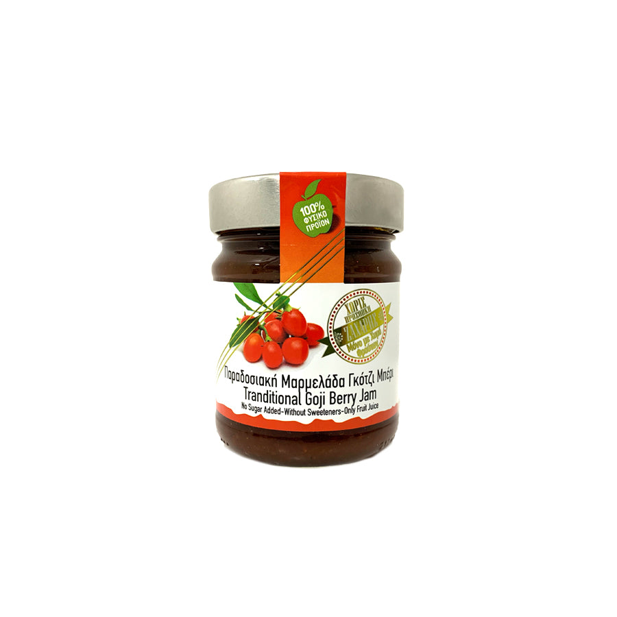 """CHRYSO MILO"" GOJI BERRY JAM (NO SUGAR)"