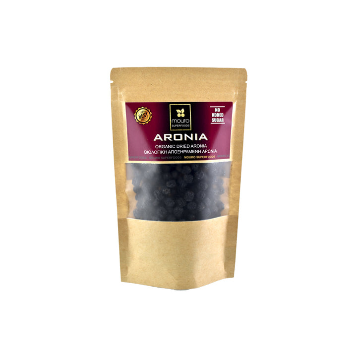 """MOURO SUPERFOODS"" ORGANIC DRIED ARONIA (NO SUGAR)"