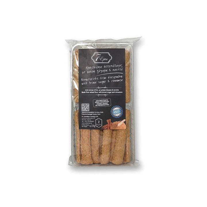 """EPTA"" BREADSTICKS FROM ASTYPALEA WITH BROWN SUGAR & CINNAMON"