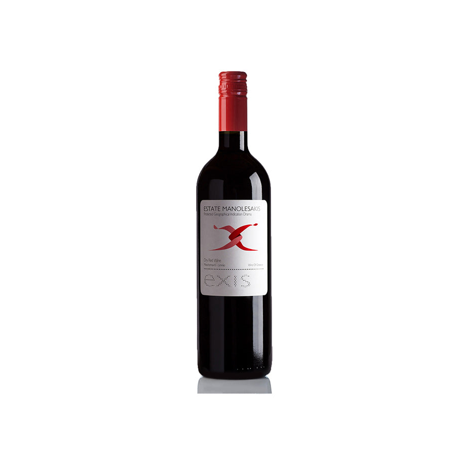 """ESTATE MANOLESAKIS"" EXIS - DRY RED WINE"