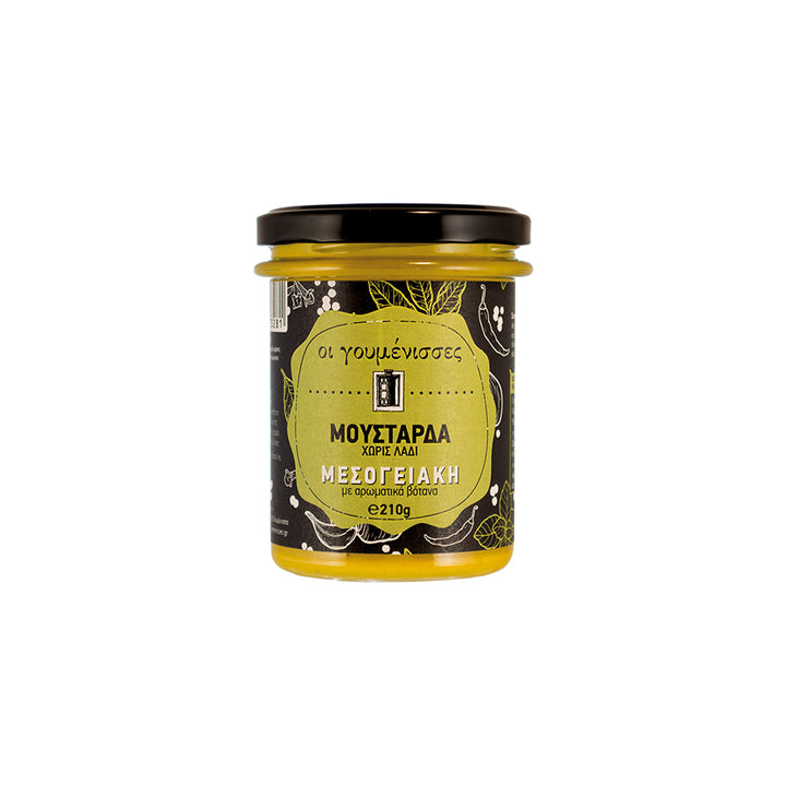 """GOUMENISSES"" MEDITERRANEAN MUSTARD WITH AROMATIC HERBS"
