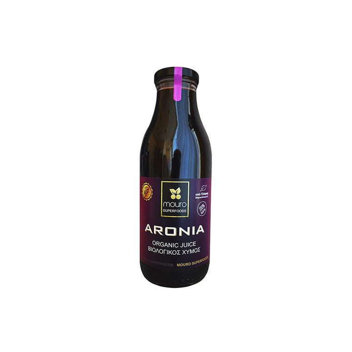 """MOURO SUPERFOODS"" ARONIA ORGANIC JUICE 500ml (NO SUGAR)"