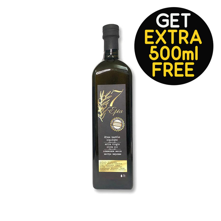 """EPTA"" EXTRA VIRGIN OLIVE OIL 1L"