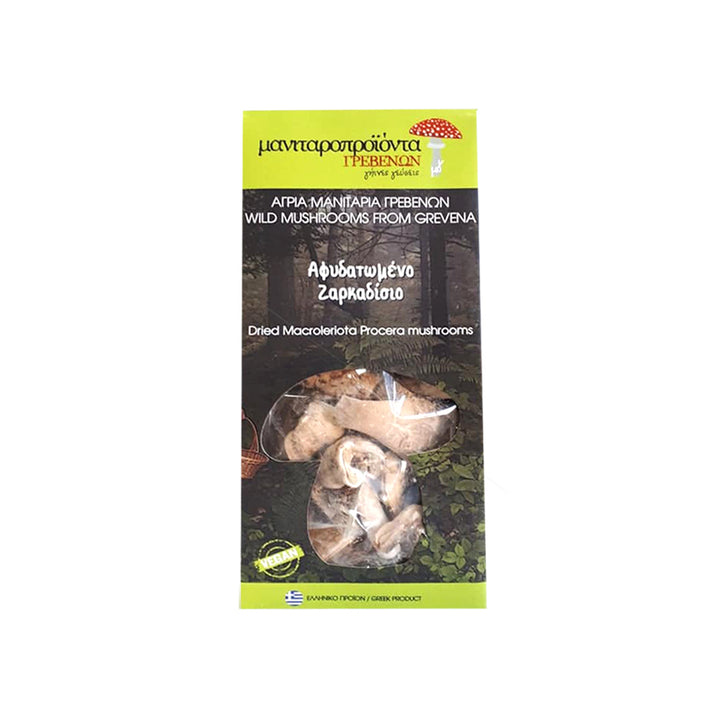"""TO MANITARI"" DRIED MACROLERIOTA PROCERA MUSHROOMS"