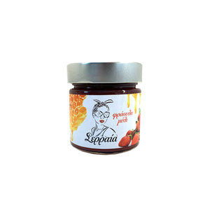 """SERRAIA"" NATURAL 100% STRAWBERRY JAM WITH HONEY (NO ADDED SUGAR)"
