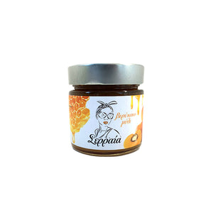 """SERRAIA"" NATURAL 100% APRICOT JAM WITH HONEY (NO ADDED SUGAR)"