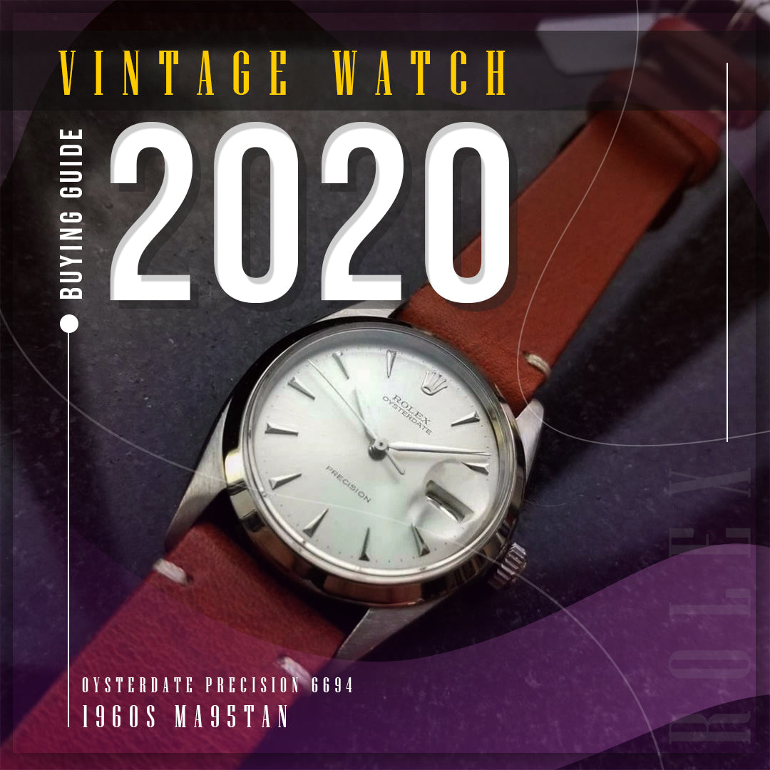 The Perfect guide to buying a Vintage Watch in 2020