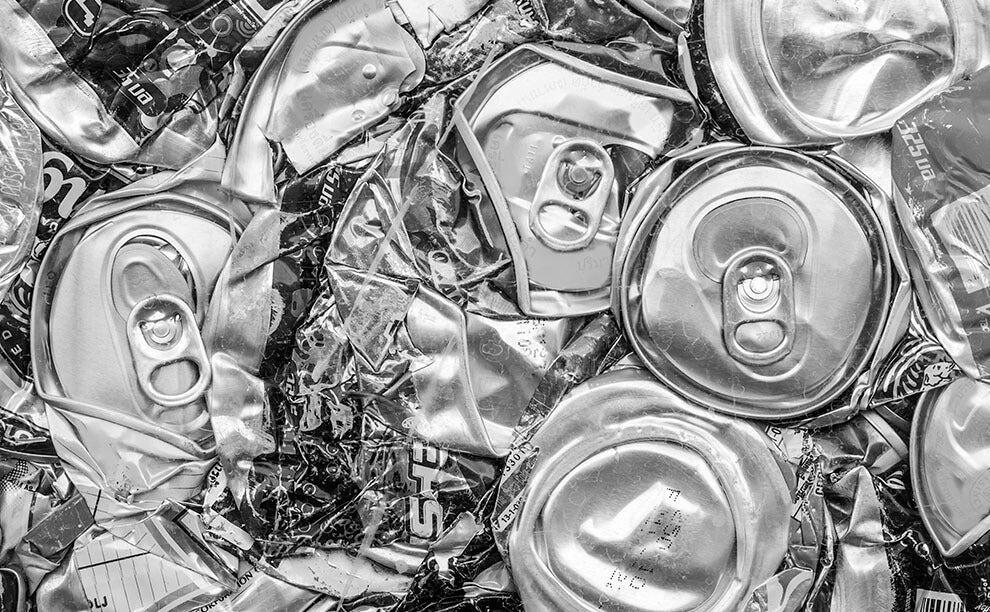 Talc – Post-consumer Aluminum Can Scrap