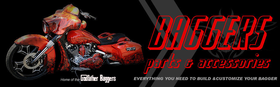 Bagger parts, body parts and bagger accessories