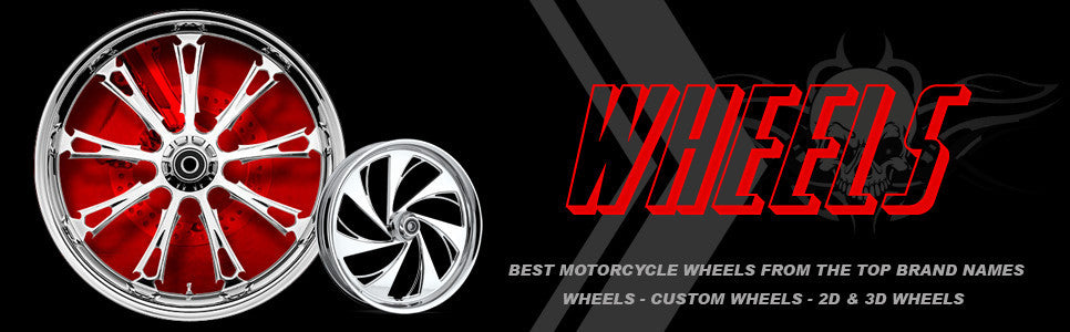 Motorcycle wheels - custom wheels and 3d wheels