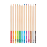 Unmistakeables Erasable Colored Pencils  (Set of  12)