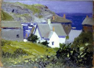Monhegan Houses, Maine 1916 -1919