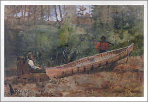Trappers Resting, 1874