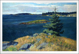 Georges Island, Penobscot Bay, Maine, 1928-1929