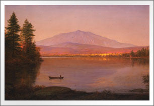 Mount Katahdin from Millinocket Camp, 1895