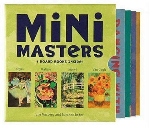 Mini Masters Board Books and Gift Set