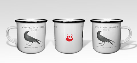 Mug: 11 oz Stainless Steel Enamel Mythmakers Camp Mug