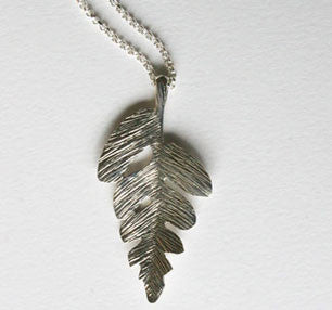 Interrupted Fern Necklace