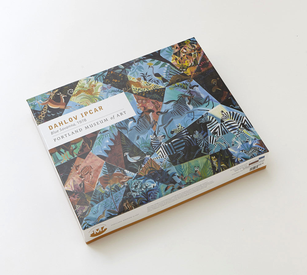 Blue Savanna Jigsaw Puzzle