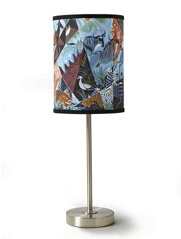 Blue Savanna Lamp