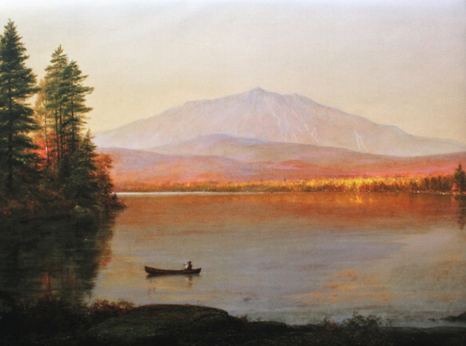 Placemat: Mount Katahdin from Millinocket Camp,1895 by Frederic Church
