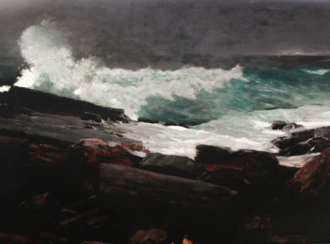 Placemat: Weatherbeaten by Winslow Homer