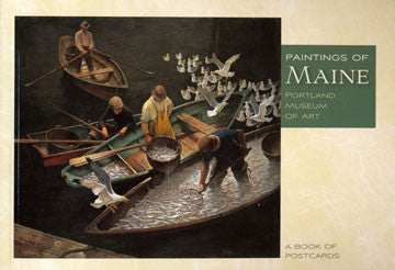 Paintings of Maine Postcard Book