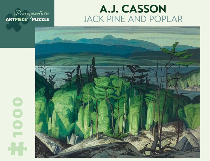 A.J. Casson: Jack Pine and Poplar 1,000-piece Jigsaw Puzzle