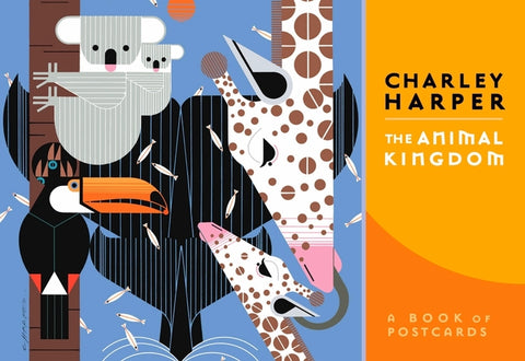 Charley Harper: The Animal Kingdom Book of Postcards