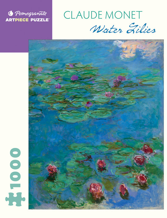 Claude Monet: Water Lilies 1000-Piece Jigsaw Puzzle