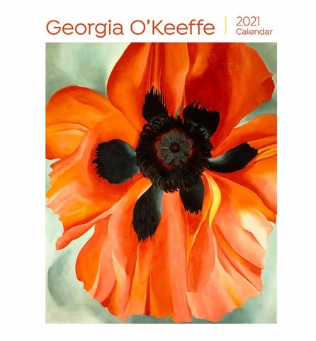 Georgia O'Keeffe 2021 Mini Wall Calendar  (6½ x 7 in.)