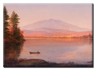 Mount Katahdin from Millnocket Camp Magnet