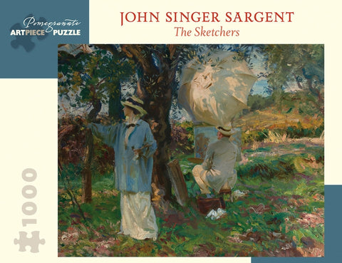 John Singer Sargent: The Sketchers 1,000-piece Jigsaw Puzzle