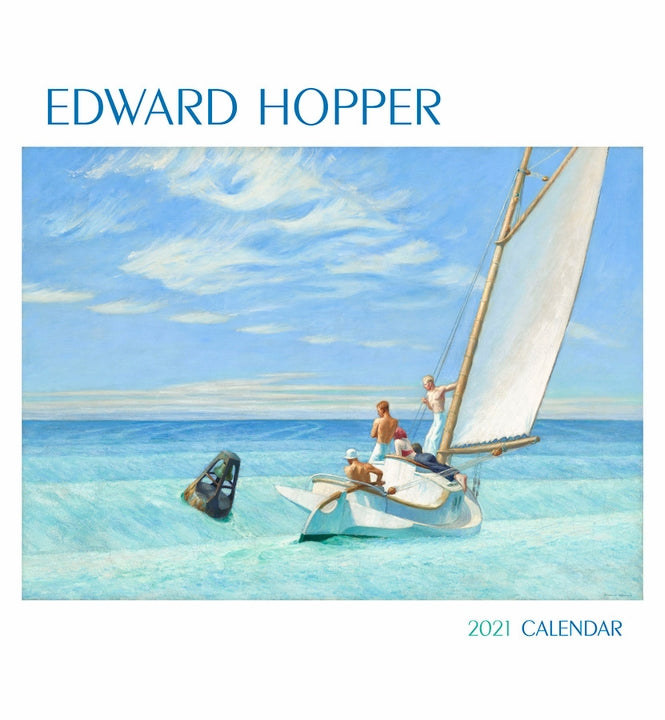 Edward Hopper 2021 Wall Calendar (12 x 13)