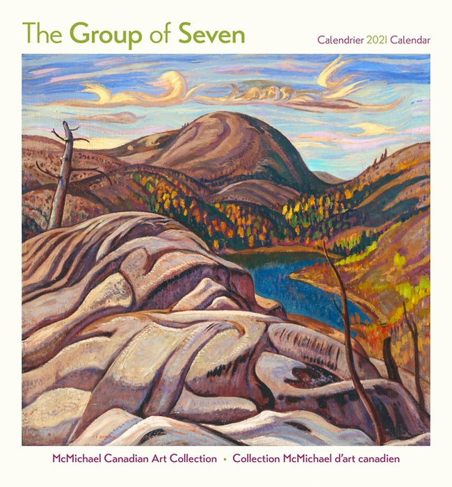 The Group of Seven 2021 Mini Wall Calendar (6½ x 7 in.)