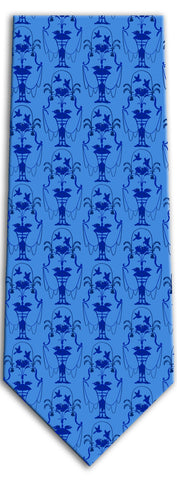 McLellan House Bird Pattern Tie