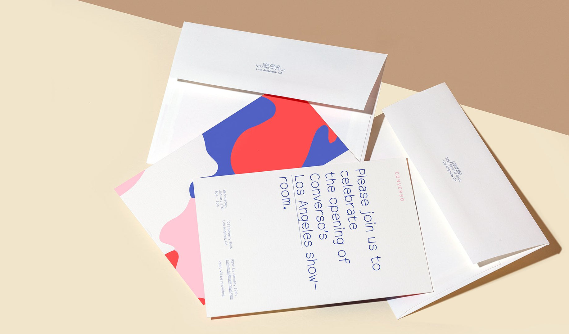Need envelopes with that? We offer a variety of customizable options including colored papers and vellums, or opt for the always classic Eggshell finish.