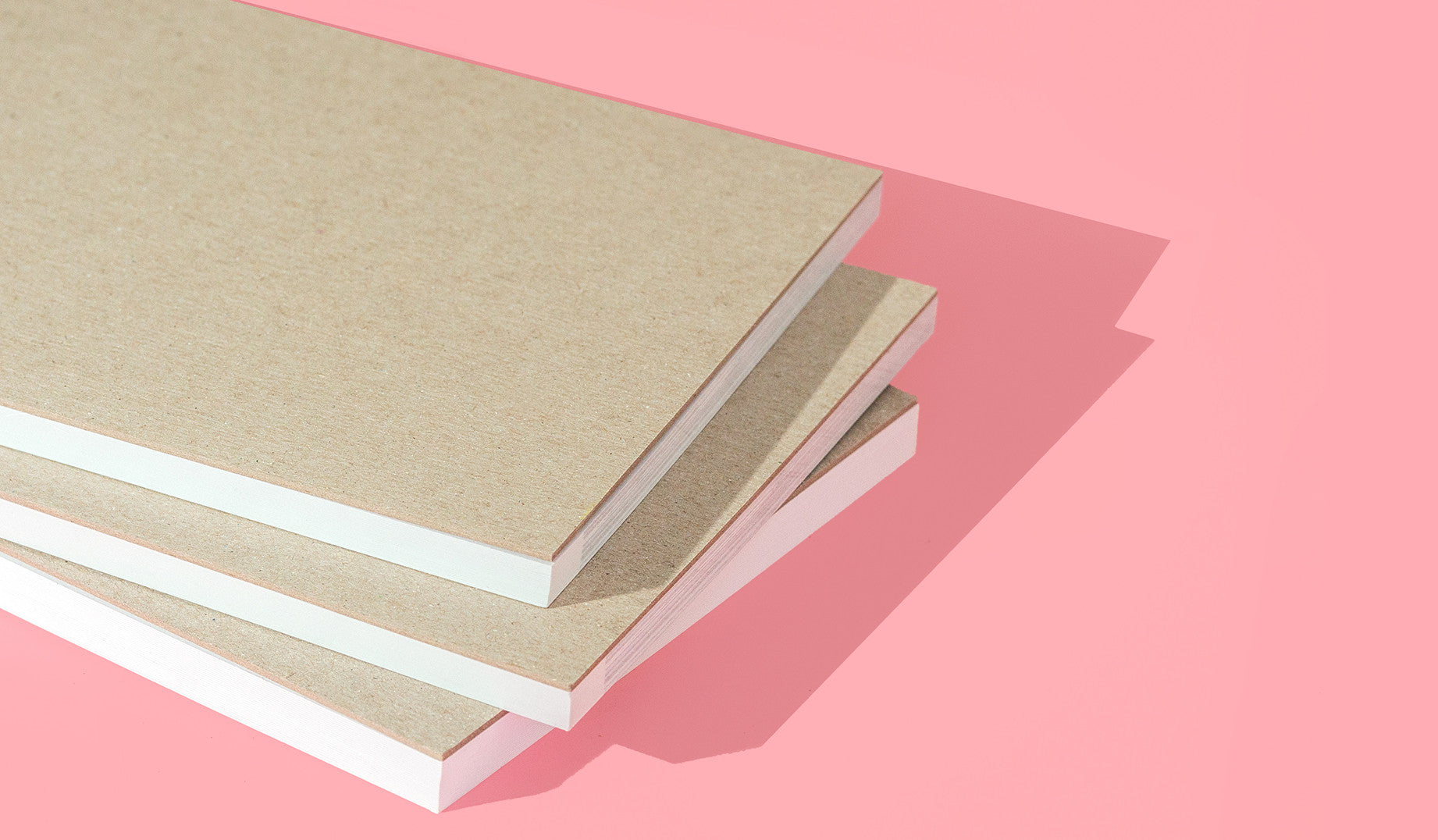 Structure is the secret to our postcard notepads. Sturdy chipboard backing adds weight and shape to these books, enhancing their overall sophisticated look.